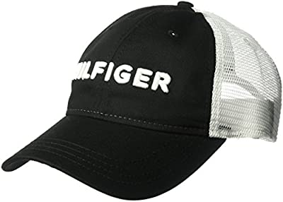 Tommy Hilfiger Men's Dad Hat Hilfiger Trucker Cap from Tommy Hilfiger