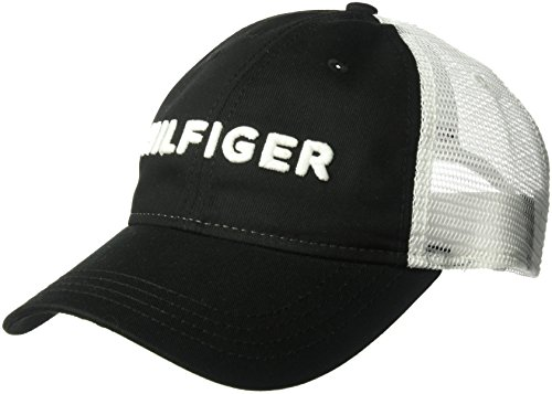 1d5945f290 Tommy Hilfiger Men s Dad Hat Hilfiger Trucker Cap – Cloud s Sale