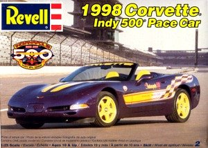Revell 1998 Corvette Indy 500 Pace Car 1:25 Scale Model Car Kit