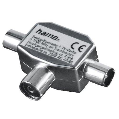 Hama Antennen-Verteiler (Koax-Kupplung - 2 Koax-Stecker)