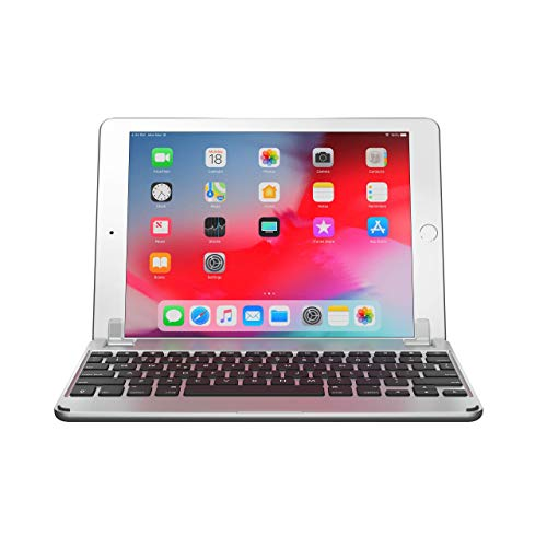 Brydge 9.7 iPad Keyboard, Aluminum Bluetooth Keyboard for 9.7 inch iPad (6th Gen), 5th Gen iPad (2017), iPad Pro 9.7 inch, Air 1 and 2 (Silver) (Ipad Air Smart Case Best Price)