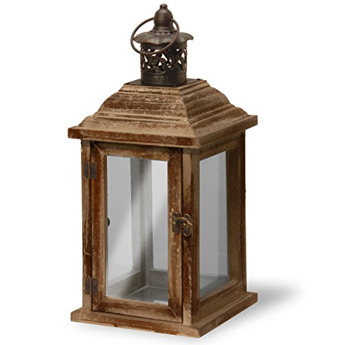"picture of National Tree Garden Accents Lantern, 6"", Brown"