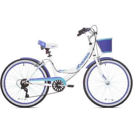 "24"" Bayside Multi-Speed Girl's Bike, Shimano 7 speed drivetr"