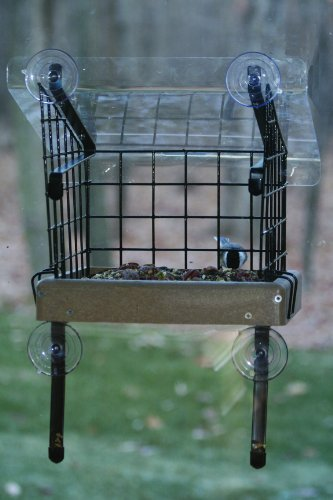 Birds Choice Window Mount Open Platform, - Black Recycled Plastic Hopper Shopping Results