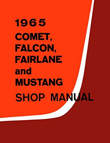 bishko automotive literature 1965 Comet Fairlane Falcon Mustang Shop Service Repair Manual Engine Electrical
