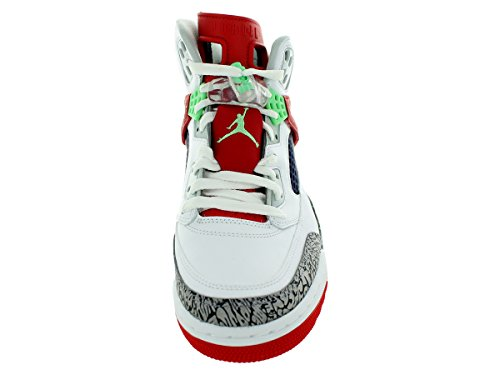 Red Poison 132 White Green University Uomo Sneaker Light Jordan x10pAC