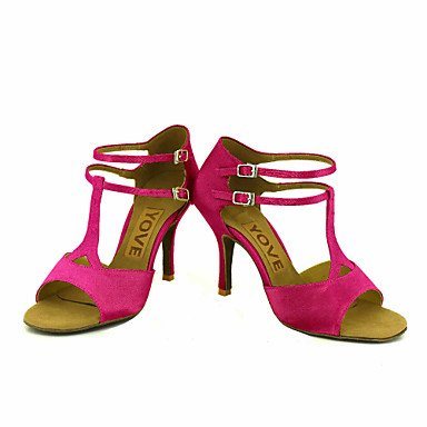 latino Pink Mandel Dansesko blå Personlig Sort Lilla Hvid Gul Hæle tilpasses Rød Salsa fURxUq