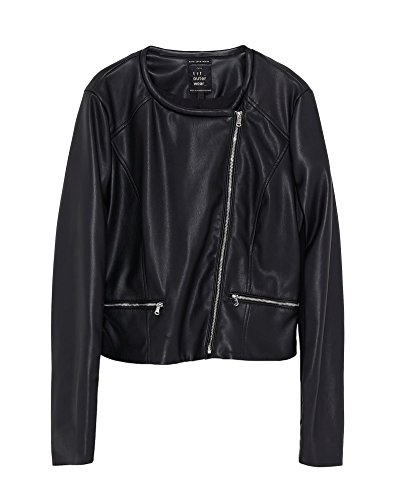 Zara Women Leather Effect Jacket 3427/041 (Small), used for sale  Delivered anywhere in USA