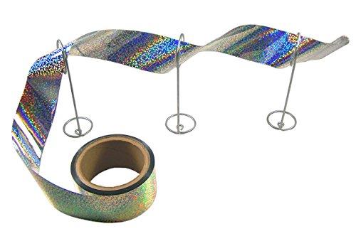 - Bird-X Irri-Tape Holographic Iridescent Foil Bird Scare Tape, 2