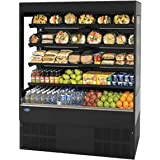 Federal Industries RSSL-678SC Refrigerated Self-Serve Slim-Line High Profile Specialty Merchandiser