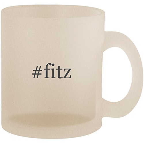 #fitz - Hashtag Frosted 10oz Glass Coffee Cup ()