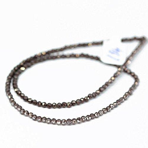 "Mystic Coated Red Almandine Garnet Loose Rondelle Gemstone Craft Beads 4"" 3mm"