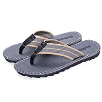 FLY HAWK Mens Boys Flip Flops Thongs Comfy Summer Sandals for Beach/PoolOutdoor Slippers Shoes