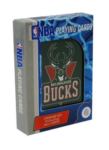 NBA Milwaukee Bucks Playing Cards