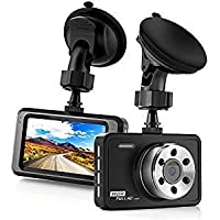 Dash Camera for Cars 4 inch Full HD 1080P Front and Rear Dual Lens Car Dashboard Driving Video Recorder with Night Vision Wide Angle Loop Recording,Parking Monitor,G-Sensor-feng01