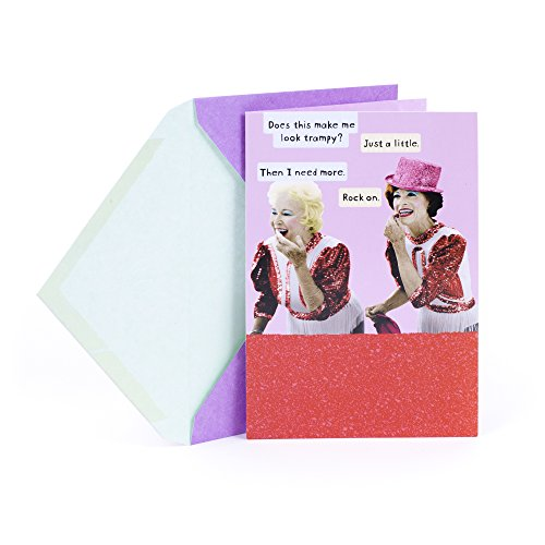 Hallmark Shoebox Valentine's Day Greeting Card for a Friend (Two Women)