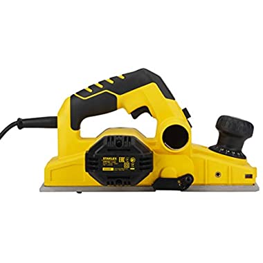 STANLEY STPP7502 750W 2mm Planer (Yellow and Black) with 2 TCT blades 10