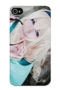 meilinF000Graceyou High Quality Blondes Women Macross Cosplay Macross Frontier Asians Nome Sheryl Case For iphone 5/5s / Perfect Case For LoversmeilinF000