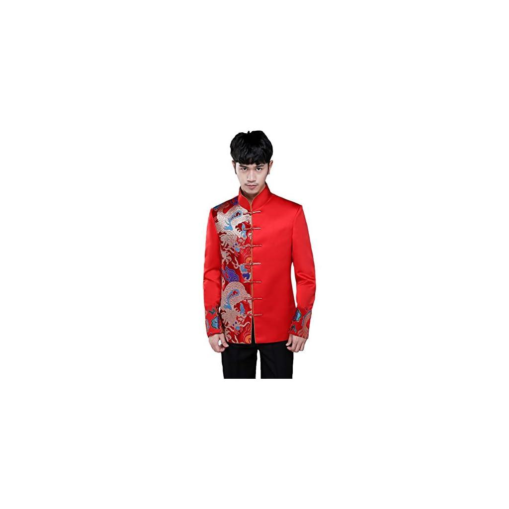 MY'S Men's 3 Piece Suit Notch Lapel 2 Button Blazer Slim Fit Dress Business Wedding Party Jacket Vest Pants & Tie Set