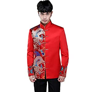 MY'S Mens Plaid 3 Piece Suit Notch Lapel 2 Button Blazer Slim Fit Dress Business Wedding Party Jacket Vest Pants & Tie Set