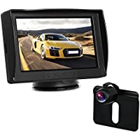 BOSCAM K3 Backup Camera and Monitor Kit for cars 4.3 TFT LCD Rear View Monitor with Super Night Vision Waterproof Reverse Back Up Car Camera