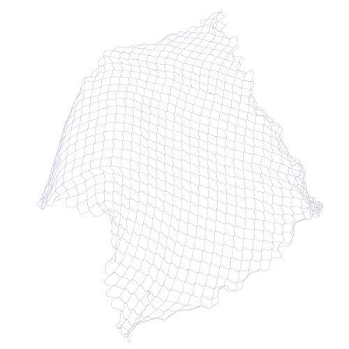Mediterranean style Wall Fish Net Decoration Photographing Party Beach home Decor(White) -