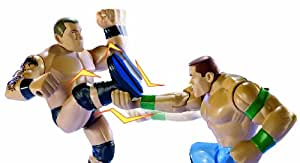 WWE Power Slammers John Cena and Randy Orton Figure Starter Pack