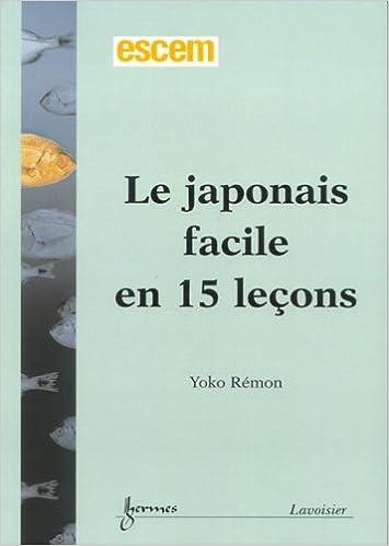 Livre gratuits en ligne Le japonais facile en 15 leçons pdf epub