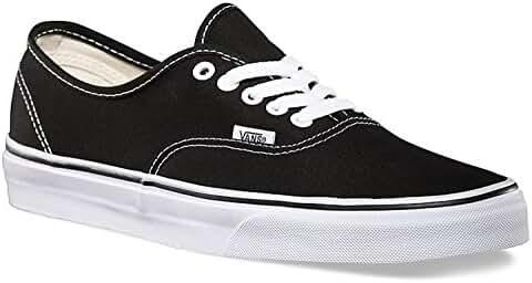 Vans Mens Authentic Core Classic Sneakers (36 M EU / 4.5 D(M) US, Black)