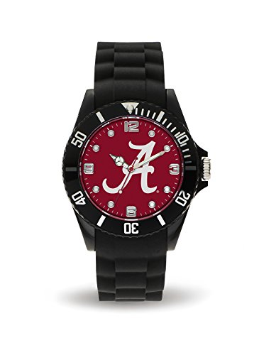 Rico Industries NCAA Alabama Crimson Tide Spirit Watch, Black