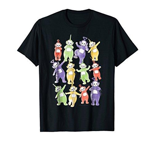 Teletubbies Adult T Shirt - Doodle