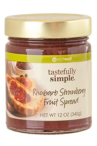 Tastefully Simple Rhubarb Strawberry Fruit Spread