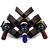 Sorbus® Wine Rack Butterfly - Stores 8 Bottles of Wine - Sleek and Chic Looking - Minimal Assembly Required