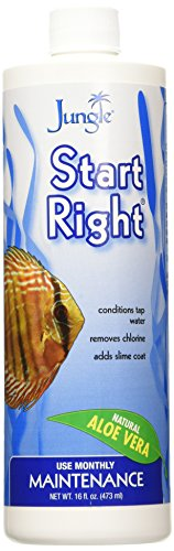 Jungle NL064-16W Start Right Complete Water Conditioner Liquid With Aloe Vera, 16-Ounce, 473-ml
