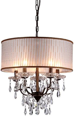 Whse of Tiffany RL8072 Scott Antique Bronze Chandelier