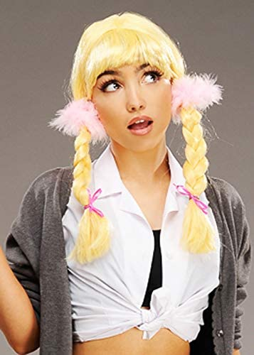 Magic Box Britney Spears Estilo Blonde Pigtail Peluca Trenzada ...