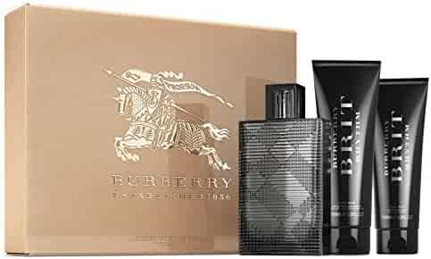 BURBERRY Brit Rhythm for Him Eau de Toilette Gift Set (3.0 oz + Aftershave Balm + Shower Gel)
