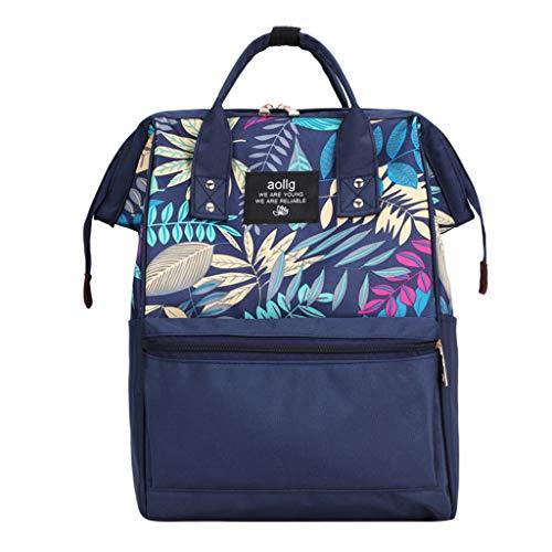 LiLiMeng Fashion Mummy Bag Portable Nappy Bottle Bag Large Capacity Baby Bag Travel Backpack Nursing Bag
