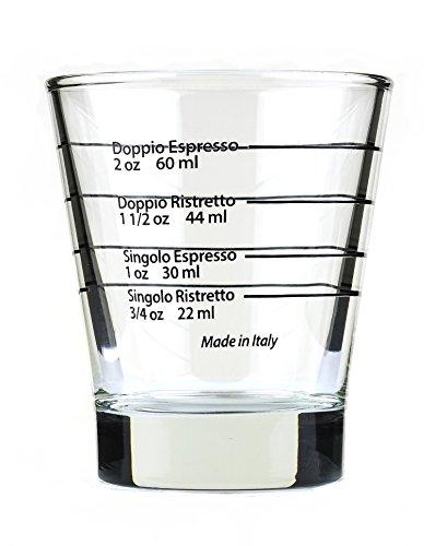 Italienisches Espresso Shotglass spülmaschinentauglich / Shot Glas / Made in Italy