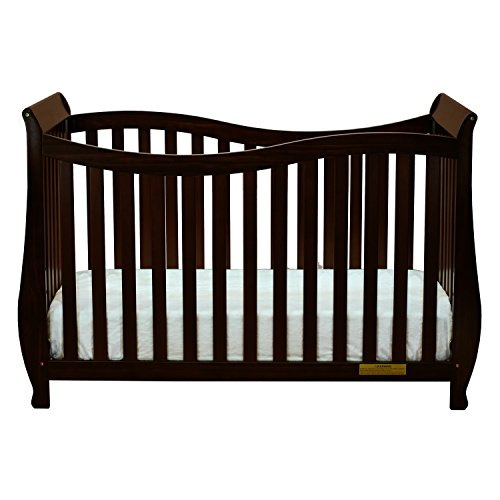 (Athena AFG Lorie 4-in-1 Convertible Crib, Espresso)