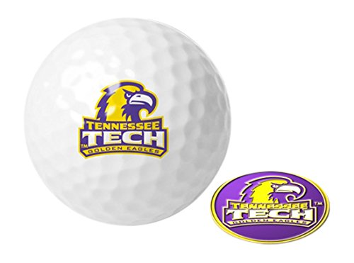 NCAA Tennessee Tech Eagles – ゴルフボール1パックwithマーカー   B01N94ELYB