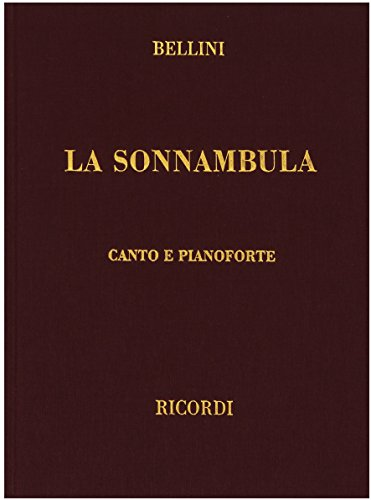 (La sonnambula: Vocal Score (English, Italian, German and French)