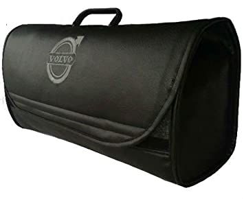 Organizador para maletero VOLVO, bolsa de herramientas para coche y camión, de piel.