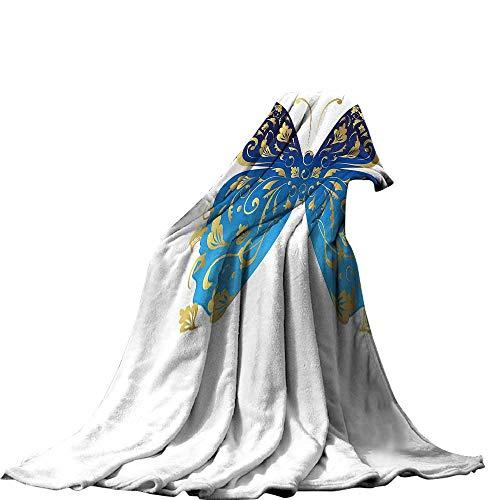 QINYAN-Home Throw Blanket (60