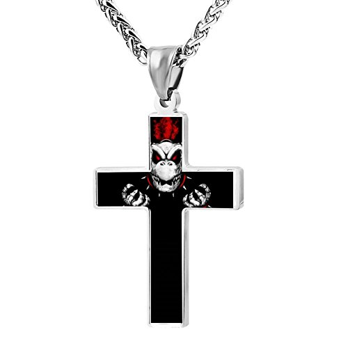 Kenlove87 Patriotic Cross The Dry Bone Religious Lord'S Zinc Jewelry Pendant -