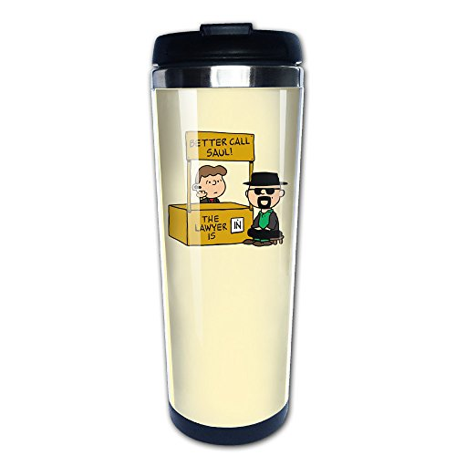 JIMBERT Crime Drama Better Call S Coffe Mug Thermal Cup 14-Ounce Mug