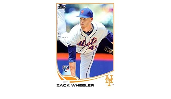 2013 Topps Update Wal-Mart Blue #US50 Zack Wheeler Baseball Rookie Card
