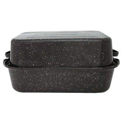 Granite Ware 0511-3 22'' GraniteWare™ Covered Rectangle Roaster