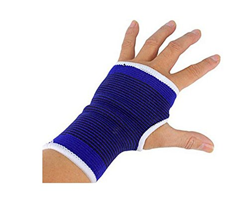 YOYOSTORE 2 Pc 1 Set Elastic Wrist Glove Palm Hand Support Sport Arthritis Brace Sleeve Bandage Wrap NEW ()