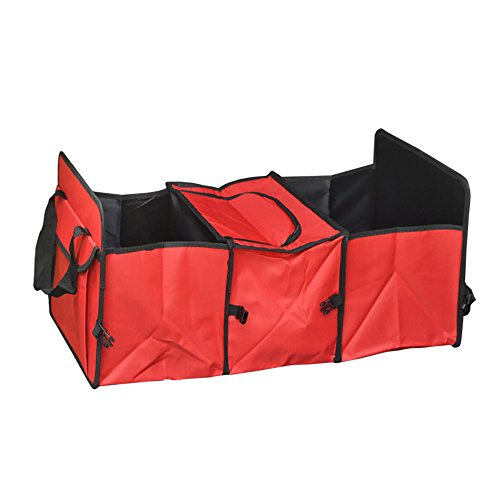AutoCare Car trunk storage bag Oxford Cloth folding truck storage box Car Trunk Tidy Bag Organizer Storage Box with cooler bag